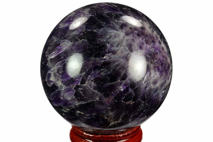 "2.05"" Polished Chevron Amethyst Sphere"
